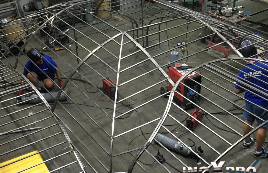 asamblare proiectare confectii metalice inoxpro bucuresti, popesti leordeni, ilfov